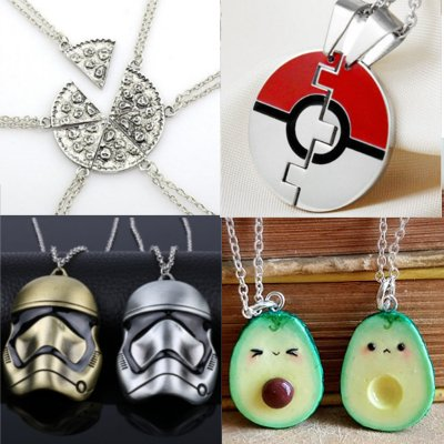 22 Awesome Friendship Necklaces for 2018