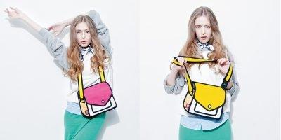 2D shoulder bag 1