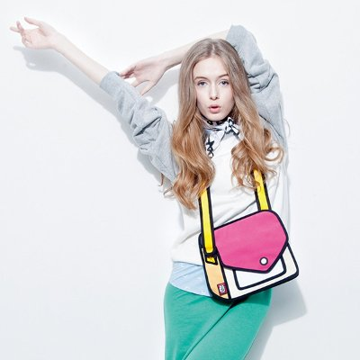 2D Shoulder Bag