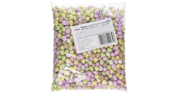 3kg bag of mini eggs