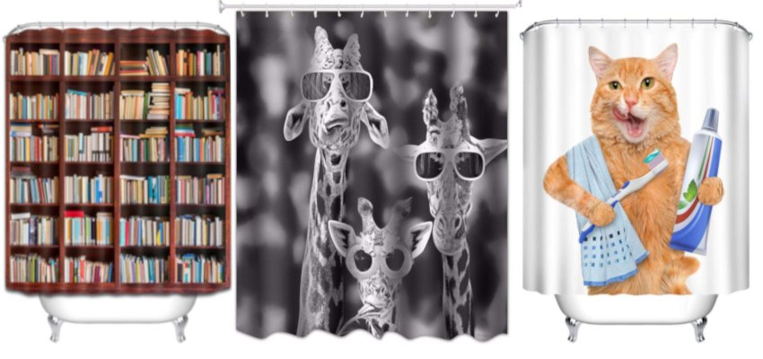 50 cool shower curtains 1