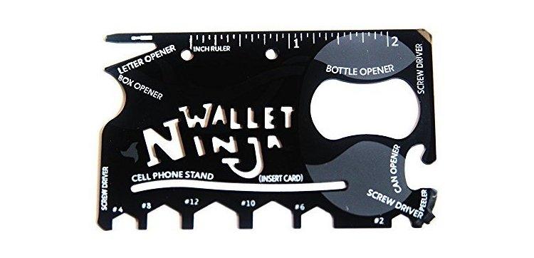 8-in-1 wallet multi tool
