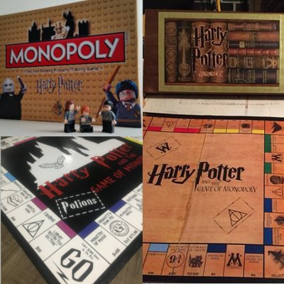 9 magical harry potter monopoly games