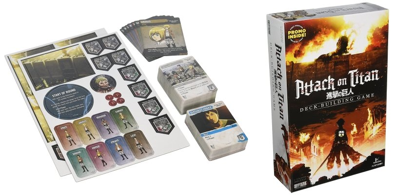 Attack on Titan The Deck Building Game