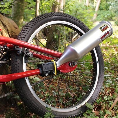 Bicycle Exhaust Sound System