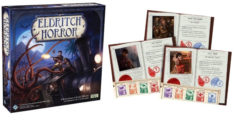 Eldritch horror solo board game 2