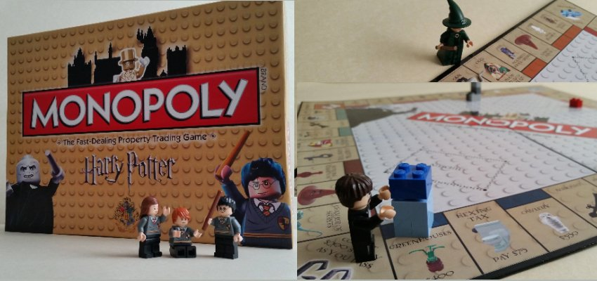 Lego harry potter monopoly