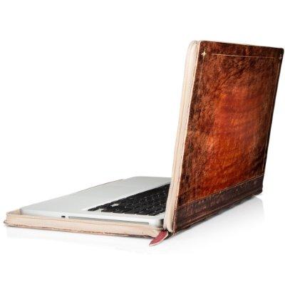Mac'book' Hardback Leather Case