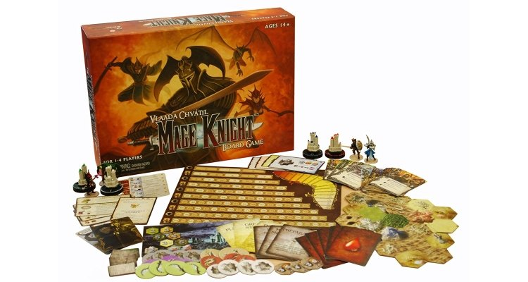 Mage Knight Sol Board Game