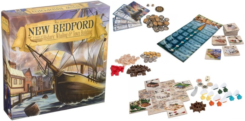 New Bedford Base solo Board Game