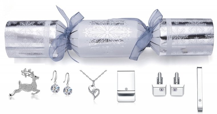 SWAROVSKI crystal christmas cracker
