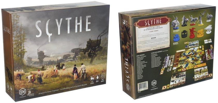 Scythe stonemaier solo board game
