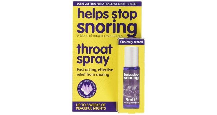 Stop snoring spray
