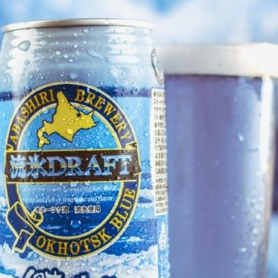 Abashiri Blue Beer