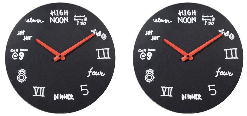 alternative numbers clock