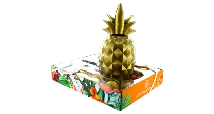 artisan du chocolat pineapple easter egg