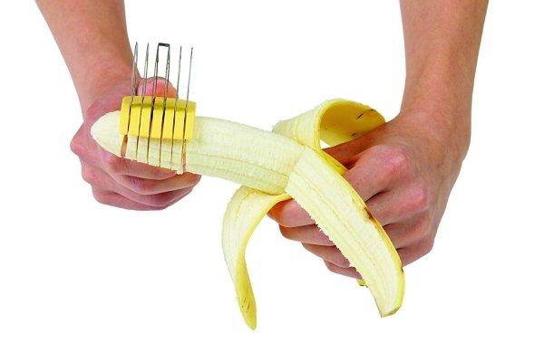 bananza banana slicer in action