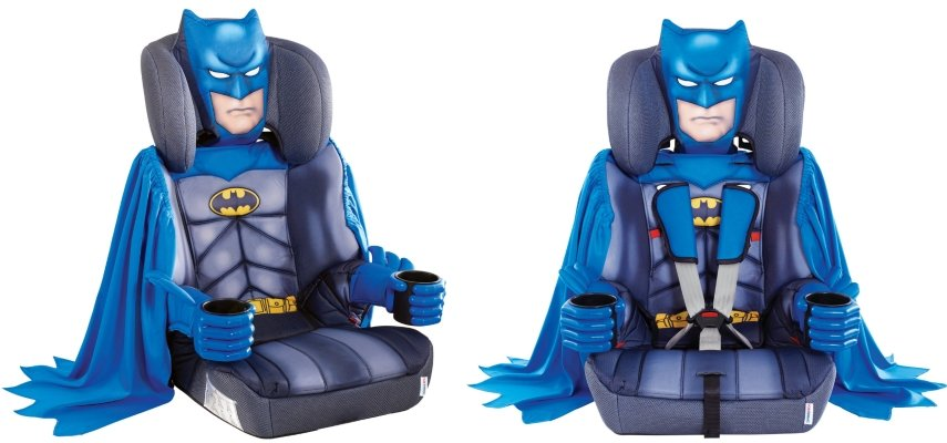batman car seat 2 angles