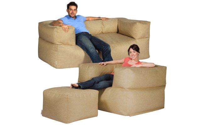 beanbag three piece suite