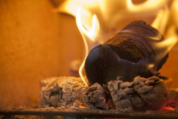 biofuel coffee logs burning
