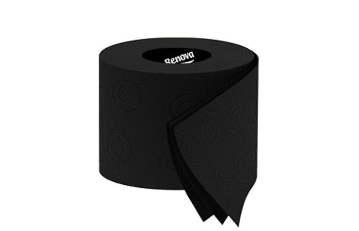 black toilet roll wide