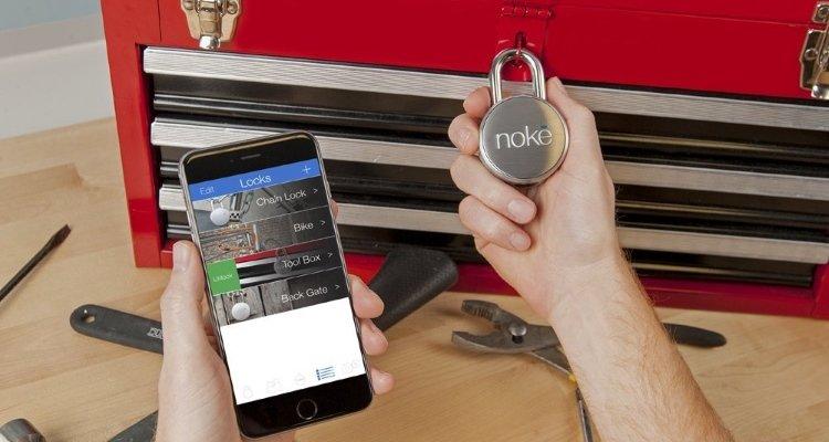 noke bluetooth keyless padlock