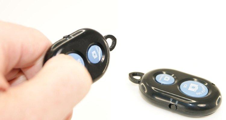 bluetooth remote control button