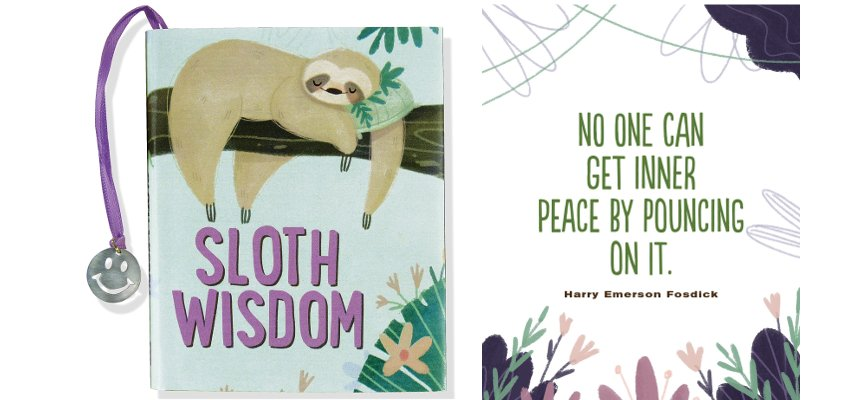 book of sloth wisdom 1