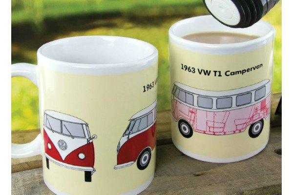 heat Changing Campervan Mug