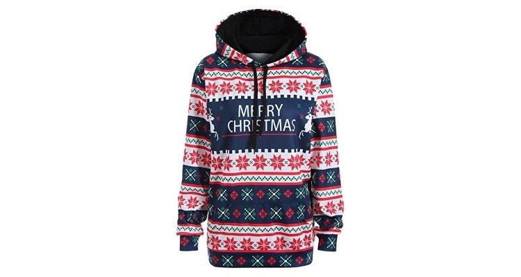 christmas jumper hoodie