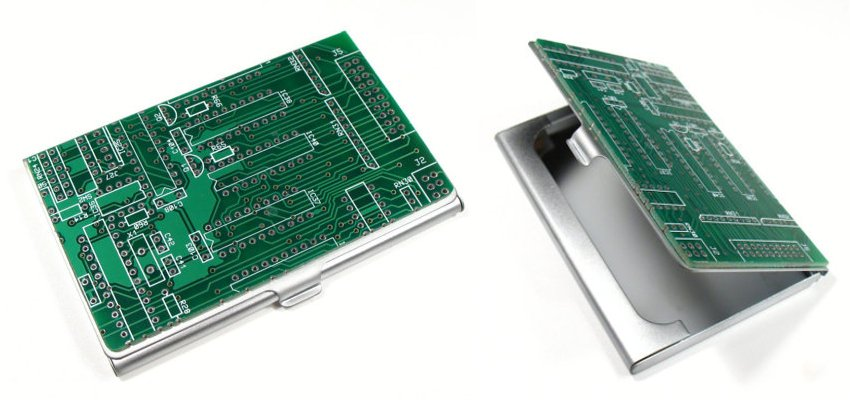 circuit board card wallet