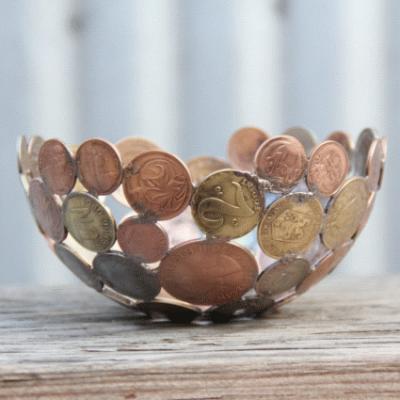 Custom Made Coin Bowl