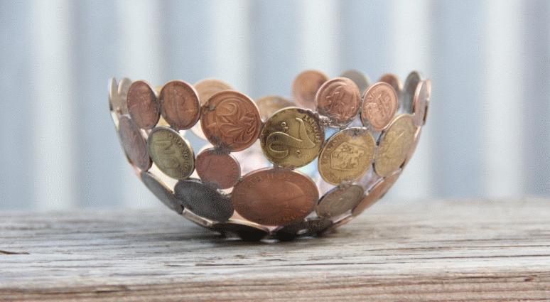 etsy coin bowl