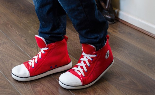 High Top Converse Slippers