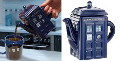dr who teapot