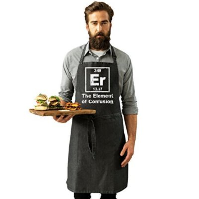 element of confusion apron