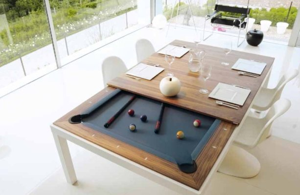 Multi Purpose Table executive multipurpose pool table | warehouse of weird