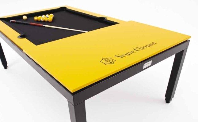 customised executive multipurpose pool table