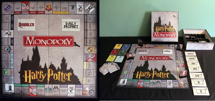 extendable harry potter monopoly bundle