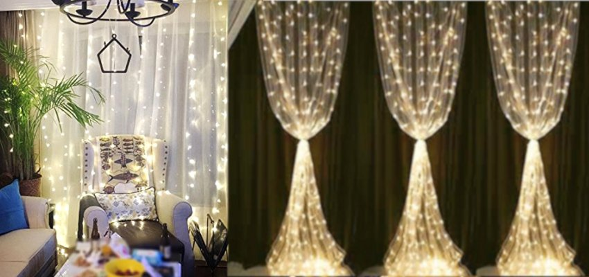 fairy light curtains 1