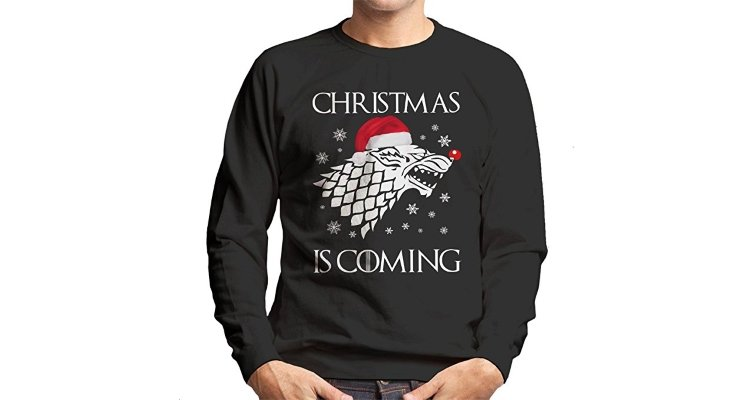 game of thrones christmas is coming jumper
