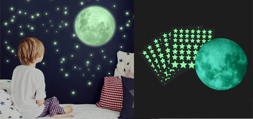 glow in the dark stars 1
