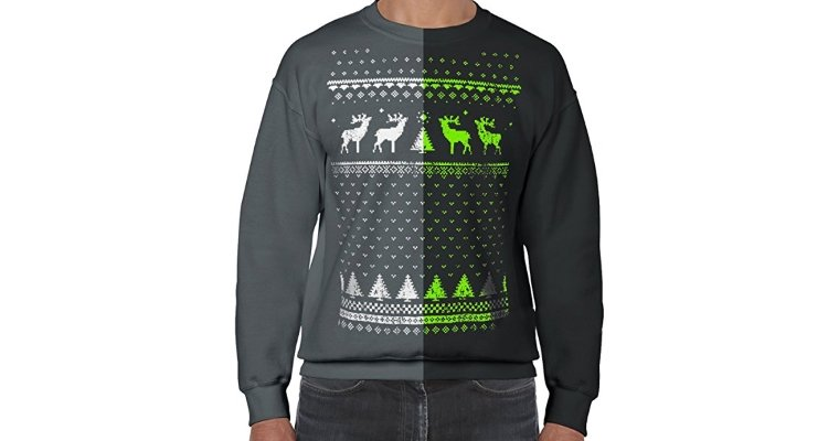 Jolly clothing glow in the dark xmas jumper