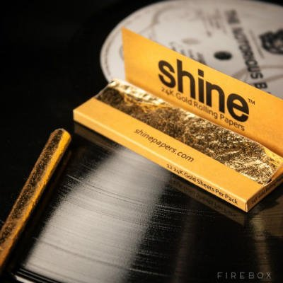24 Carat Gold Rolling Papers