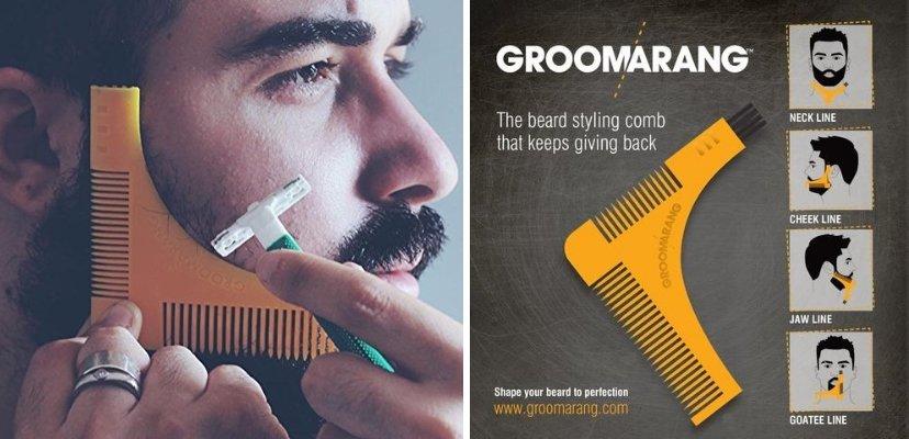 groomarang beard shaper comb
