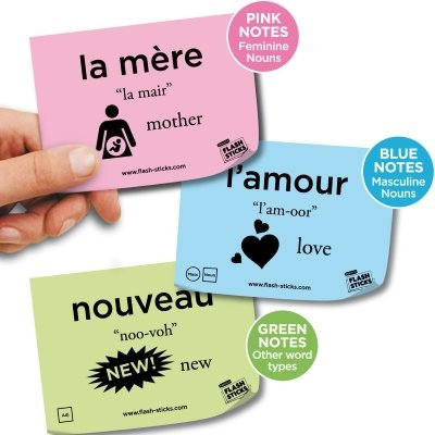Language Learning Post-it Notes