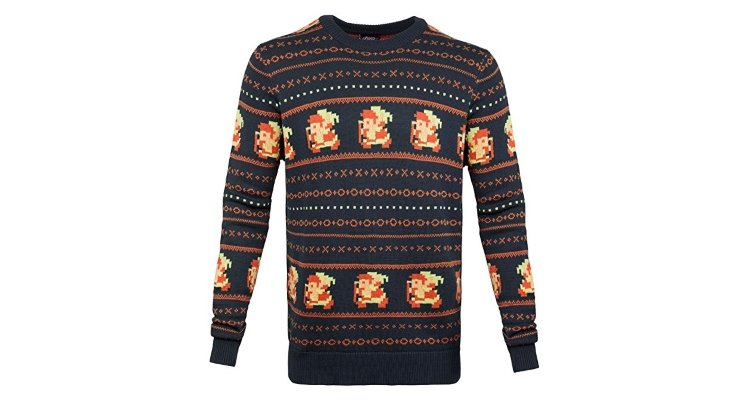 legend of zelda christmas jumper
