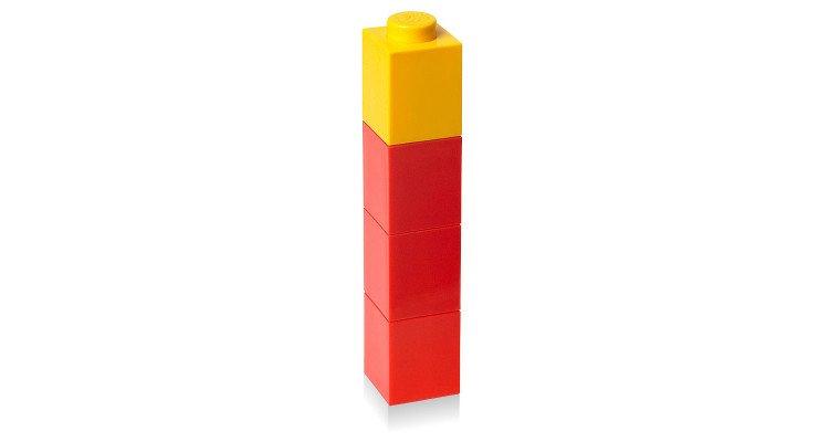 lego square drinking bottle