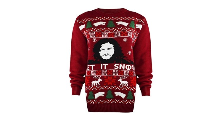 let it snow xmas jumper