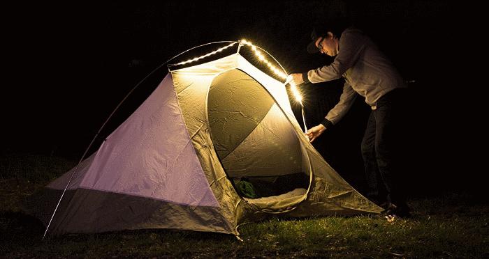 luminoodle tent light